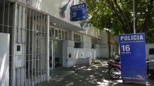 La seccional 16ª. Allí se llevan las actuaciones por la muerte en Buenos Aires al 2700.