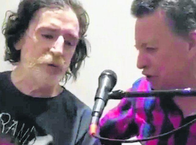 Charly cantó Popotitos con Palito Ortega