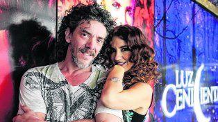 protagonistas. Maximiliano Guerra y la española Ana Belén Beas son el príncipe y Cenicienta en este musical.