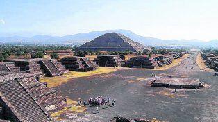 Imponente. El sitio arqueológico mexicano fue declarado Patrimonio Cultural de la Humanidad.