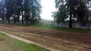 El lugar. La obra se emplazará en la Plaza del Ferroviario.