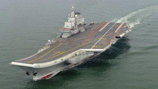 Alerta. El portaaviones chino Liaoning