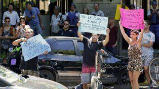 Polémica. La suspensión de las rave marplatenses generó protestas contra el intendente Carlos Arroyo.