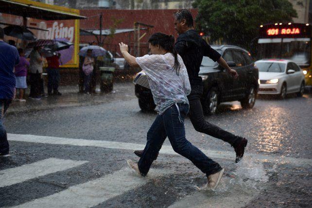 Rosario espera para dentro de unas horas la lluvia