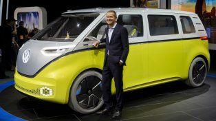Concept. ID Buzz, una van ideada por Volkswagen para el mercado eléctrico.