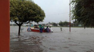 Por la gravedad, creemos que es la peor inundación de los últimos 40 años