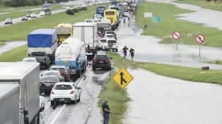 Algunas rutas provinciales continúan cortadas tras el paso de un nuevo temporal