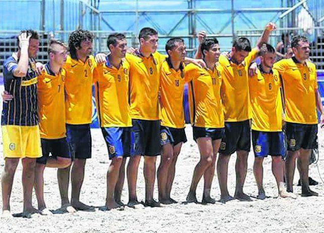 El plantel. Los canallas llegaron muy lejos en su primera Copa Libertadores.