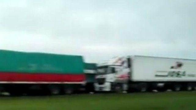Se habilitó un carril de la autopista y recomiendan ir a Buenos Aires vía Entre Ríos
