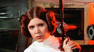Carrie Fisher en el rol de Leia.