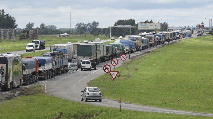 La autopista Rosario - Buenos Aires quedó habilitada en las primeras horas de la tarde