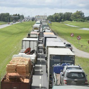 cortes y desvios en las rutas de la provincia por la emergencia hidrica que afecta a la region