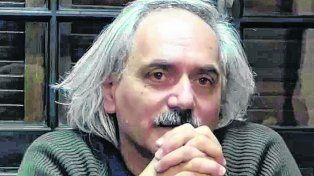 Marcelo Maran. El autor y actor de teatro marplatense está enojado con el gobierno municipal.