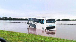 dramático. Los pasajeros vivieron momentos de profunda angustia.