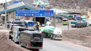 Una mujer argentina murió mientras esperaba en la cola del paso fronterizo a Chile