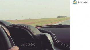 Imagen captada de la cuenta de Instagram del Club Ferrari.