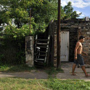 La casa de Viamonte al 7000, donde vivía Nelson Gione..