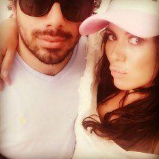 Karina y Alberto en una foto que la modelo publicó en su cuenta de Instagram.