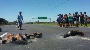 Vecinos cortaron Circunvalación a la altura de Avellaneda.