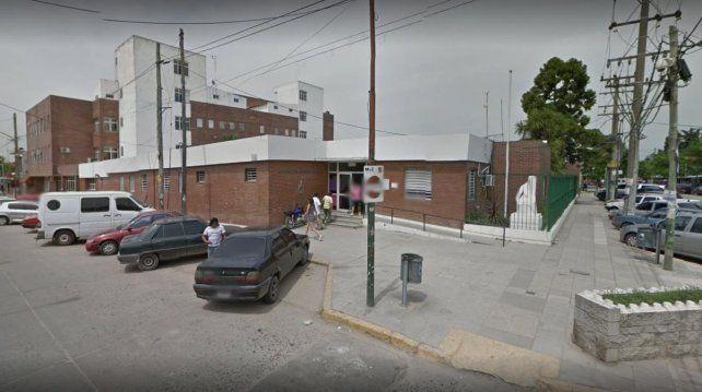 La imagen del Hospital Allende.
