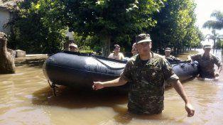 Tras el temporal, hay seis mil evacuados y la mitad de La Emilia está bajo agua