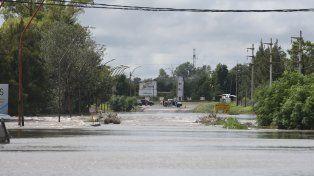 El temporal generó otra vez la emergencia hídrica en la región.