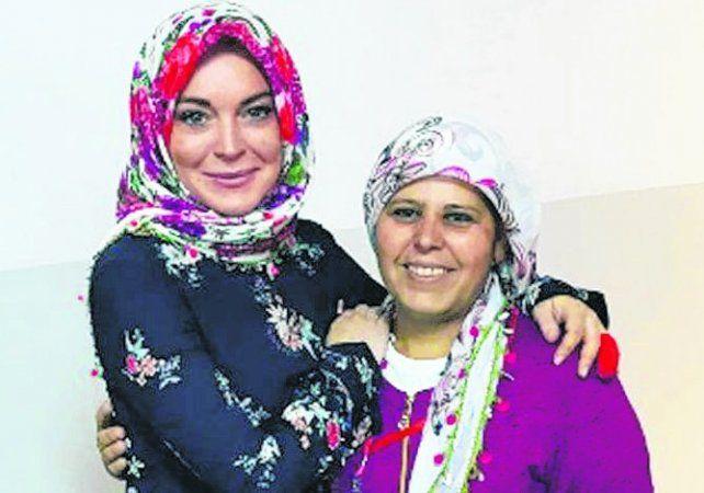 ¿Lindsay Lohan decidió convertirse al Islam?