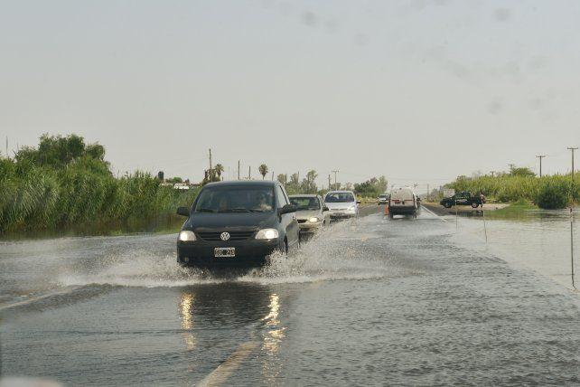 El temporal de los últimos días se llevó puesto al secretario de Recursos Hídricos de la provincia.