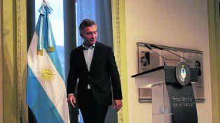 agenda abierta. Macri dio la primera conferencia de prensa del año.