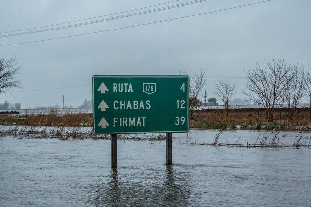 La situación por las inundaciones en la provincia produjo un conflicto entre Porta y el gobierno provincial.