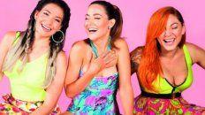Ahora Bandana son tres: Lourdes Fernández, Valeria Gastaldi y Lissa Vera.