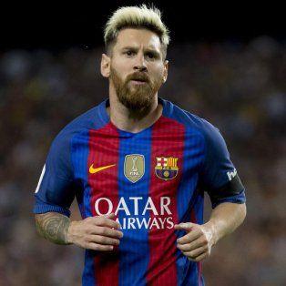 Messi tiene contrato hasta junio de 2018 en el club culé.