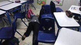 Un chico de 12 años dispara contra sus compañeros de clase en la ciudad mexicana de Monterrey.