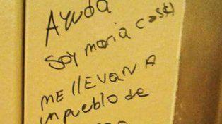 La madre de María Cash descarta que los mensajes que aparecieron firmados por ella sean de ella
