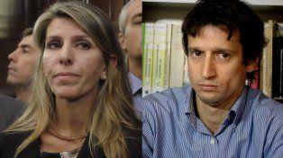 La jueza Arroyo Salgado, expareja de Nisman, y Diego Lagomarsino, excolaborador del fiscal.