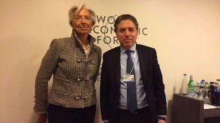 Dujovne se reunió en Davos con la jefa del FMI