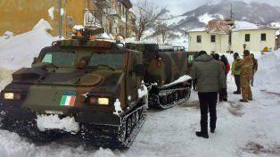 Tres muertos causó el el alud que sepultó un hotel tras los terremotos en Italia