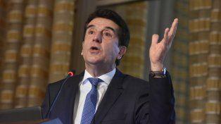 Carlos Melconian se despidió hoy de la presidencia del Banco Nación.