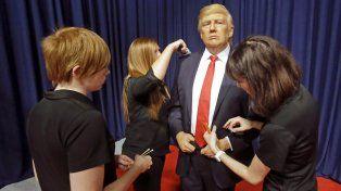 Trump ya reemplazó a Obama en el museo de cera Madame Tussauds