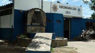 Los jóvenes ladrones quedaron detenidos en la subcomisaría 22ª.