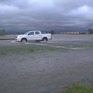 Garibay dijo que entre las obras planeadas se encuentra la canalización del arroyo Pavón, que desbordó el domingo pasado.