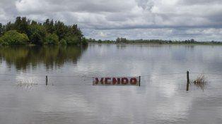 Una amplia zona del sur santafesino se vio afectada por las inundaciones.
