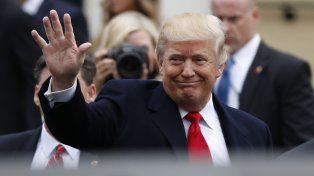 Seguí en vivo el acto de asunción de Donald Trump como presidente de los Estados Unidos