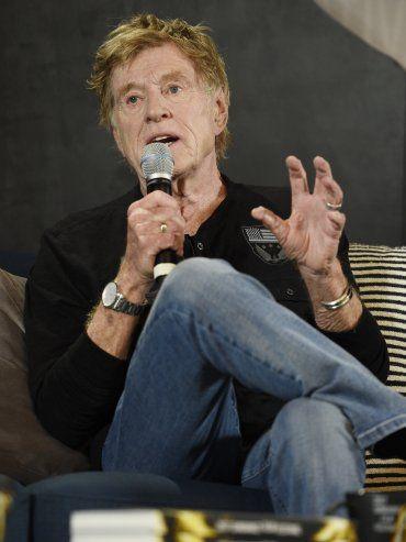 El legendario actor Robert Redford dio el puntapié inicial del Festival de Cine de Sundance.