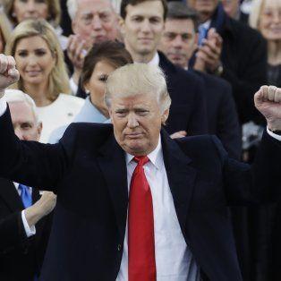 Donald Trump juró como presidente de los Estados Unidos.