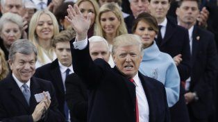 Donald Trump dijo quee terminó la era de los charlantes, es la hora de la acción.