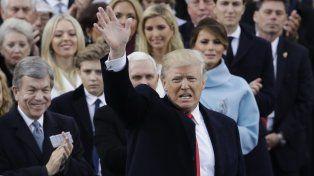 Donald Trump dijo quee terminó la era de los charlantes