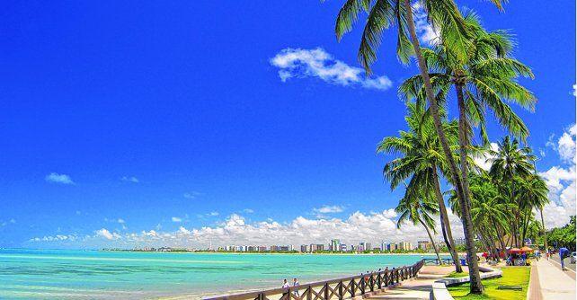 Delicias para descansar la vista y la mente. Las playas brasileñas de Maceió ofrecen alternativas y variedad para todos los gustos.
