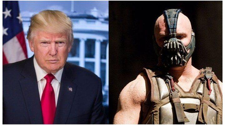 Encuentran similitudes en el discurso de Donald Trump con el de Bane, villano de Batman
