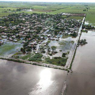 El departamento Castellanos fue uno de los más afectados por las inundaciones.